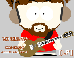 Brad...South Park style. by 1BLuRReDReALiTy1