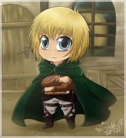 Armin Arlert - Everything will be alright by Isi-Daddy