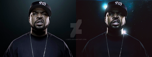 Ice Cube Photo manipulation by BrFX