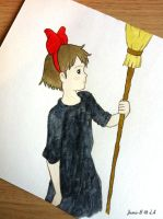 [Kiki's Delivery Service] Wind or Rain by Jamie-B