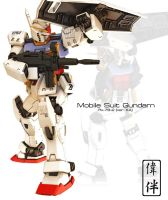 Gundam ver KA by sandrum