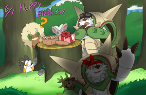 Happy birthday! by Spray-POKA