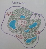 Map of Abirano by Spookyx12