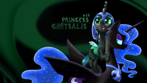 Ask Princess Chrysalis wallpaper#2 by Syggie