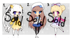 [CLOSED] Adoptable AUCTION - Star batch by Pemiin