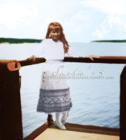 The sea behind her by GracefulTatiana1897