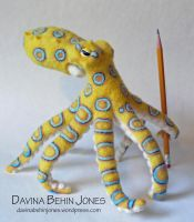 Blue Ringed Octopus the third by FamiliarOddlings