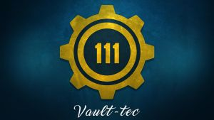 Vault-Tec 111 Wallpaper #1 by solidcell