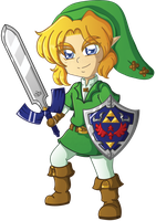 Fanart: Link Chibi by Boundbyribbon