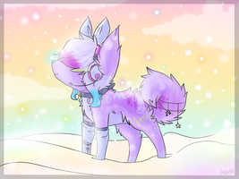 Morning snow by CuppycakeSprinkles