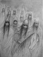 The Dead Men of Dunharrow. by IreneLangholm