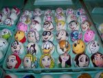 Disney and  Bunny Easter eggs by Rene-L