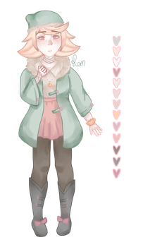 [ Request ] [ Oc Design ] Momoka aka peachyy by Discolourful