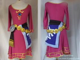 Zelda Skyward Sword skyloft dress full costume by Narayu
