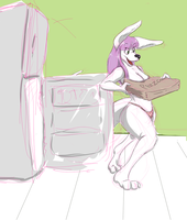 Late Night Pizza pt. 1 by Count-Gravimeter