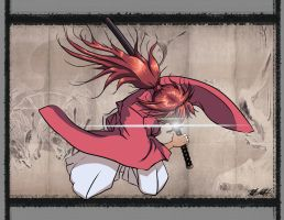 Himura Kenshin The Battousai by A-Bear-Artist