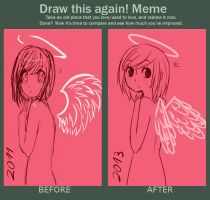 Draw this again! meme by Kyathi