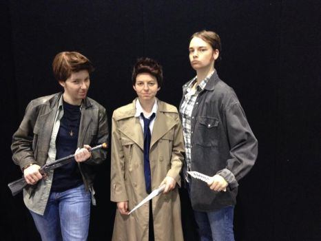 Team Free Will Cosplay 2 by crazyswimgirl