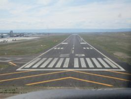 Runway 29 approach! by Boeing787