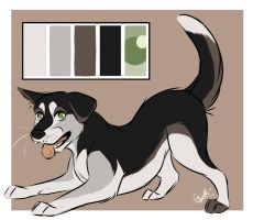 Palette Adoptable: Canine 4 by Espherio