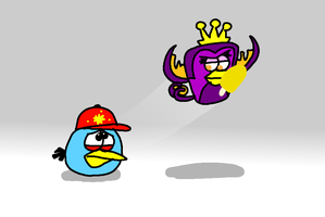 There Goes My Ice Cream... by AngryBirdsStuff