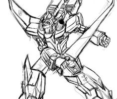 Starscream in Armada by riyancyy777