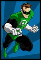 GREEN LANTERN by Josh-van-Reyk