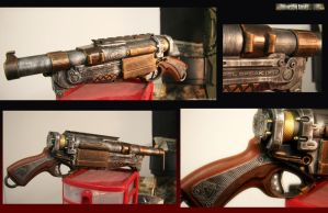 Steampunk Barrel Break group by JohnsonArms