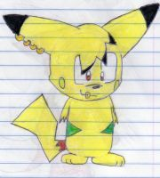 (OLD) Hayasa the Pikachu by AaronAmethyst