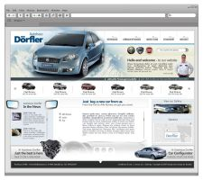 Dorfler Car Template by rusadrianewald
