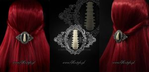 Spine Hairclip by Euflonica
