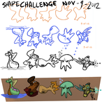 Draw-A-Character Shape Challenge 9-15-12 by slaymanexe
