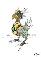 Mecha Chocobo by AltairSV