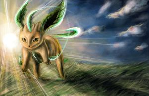 Leafeon by ANeDe