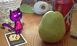 Fun with AR 4: Bob and the Giant Pear by TheStaticStalker