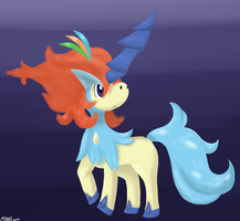 Keldeo Resolution Form by Aven-Mochi