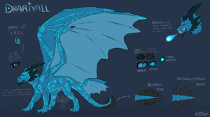 Dharivall's OLD Ref. Sheet by Night-Anders