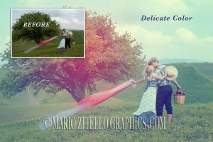 Delicate Color ACTION PHOTOSHOP by MarioZitelloGraphics