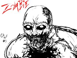 zombie bw 2 by painkiller678