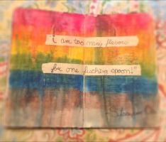I am too many flavors... by DearPoetry