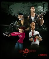 LEFT 4 DEAD by mARTu-Mandy