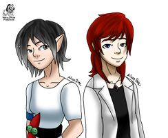 Gift: Linnhe and Wren by Aileen-Rose