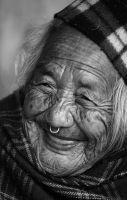 100 year old smile by LeahPhotography