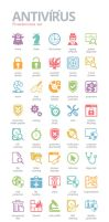 Antivirus Icons by BraveDesign