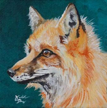 Red Fox by Marbletoast