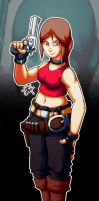 :it'sa claire redfield: by PoisonRemedy