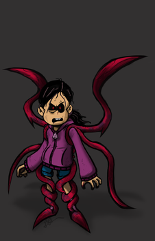 Request Drawing Ghoul Ronnie Anne by OasisCommander51