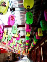 Lanterns of Colour by niksi13