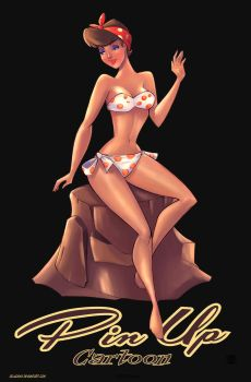 Pin up  K.O Munson Cartoon by Celaoxxx by celaoxxx