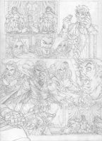 another page in pencil by pant